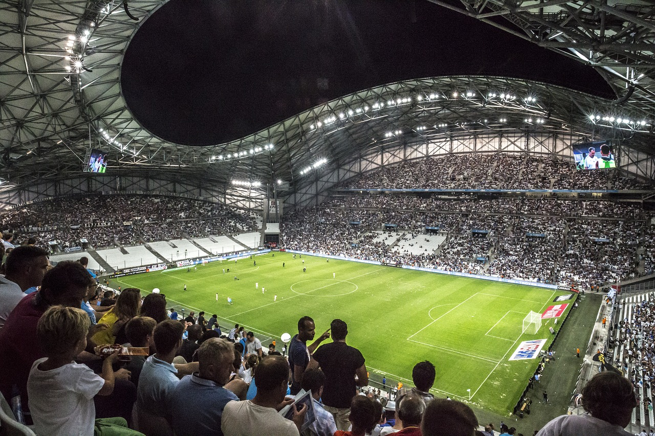 Stadium Football Velodrome Marseille
